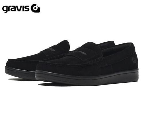 Gravis グラビス スニーカー ローファー ODJICK オジェック ブラック 25220