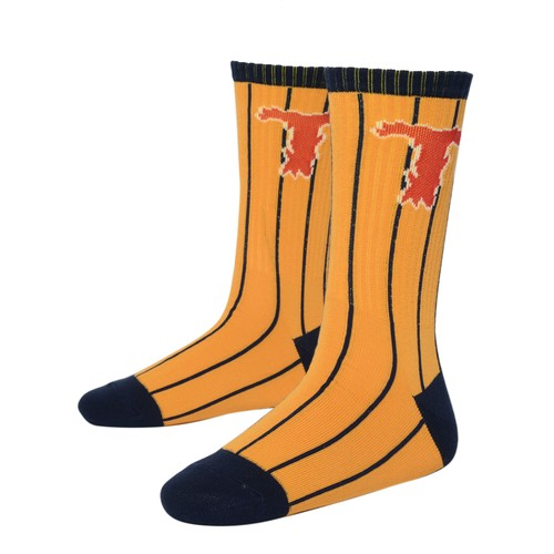 T LOGO SOCKS(YELLOW)[TH8A-101]