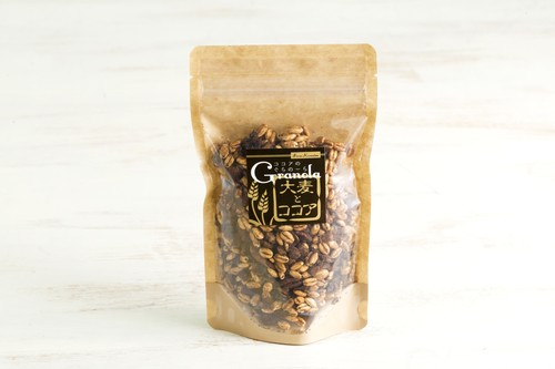 大麦とココアグラノーラ