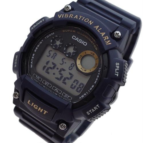カシオ CASIO 腕時計 メンズ W-735H-2AV クォーツ ブラック ダークパープル