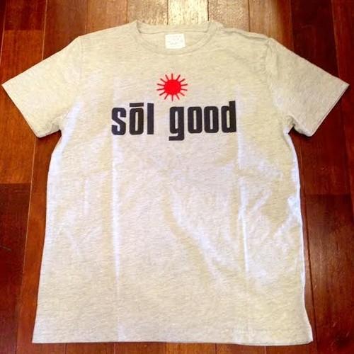 "SUNNY SPORTS/サニースポーツ | "" Sol Good "" Crew T-Shirts / H.Gray"