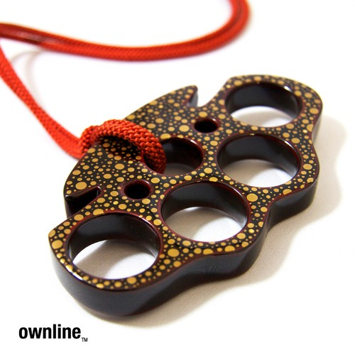 ownline™ 伝統工芸輪島塗 - KNUCKLE DUSTER - 捌