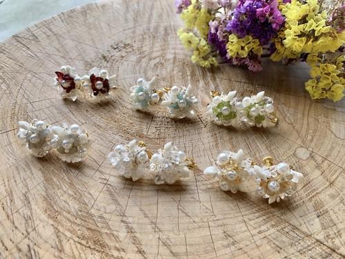 tsubu tsubu earrings/pierce