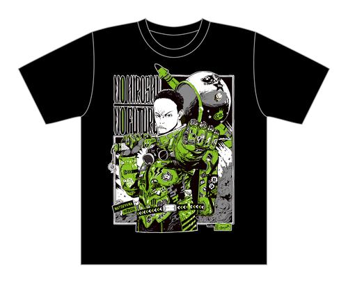 【黒・モノカラー】サイバーコネクトツー松山洋 x jbstyle. コラボTシャツ