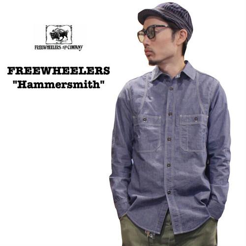 """Hammersmith"" FREEWHEELERS/フリーホイーラーズ UNION SPECIAL OVERALLS Lot 1933006 シャンブレー / シャツ / ワーク"
