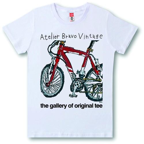 ATBR-V-SST-023 Tシャツ リーストinマウンテンバイク