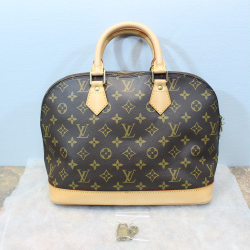 .LOUIS VUITTON M51130 BA0967 MONOGRAM PATTERNED HAND BAG MADE IN FRANCE/ルイヴィトンアルマモノグラム柄ハンドバッグ 2000000030647