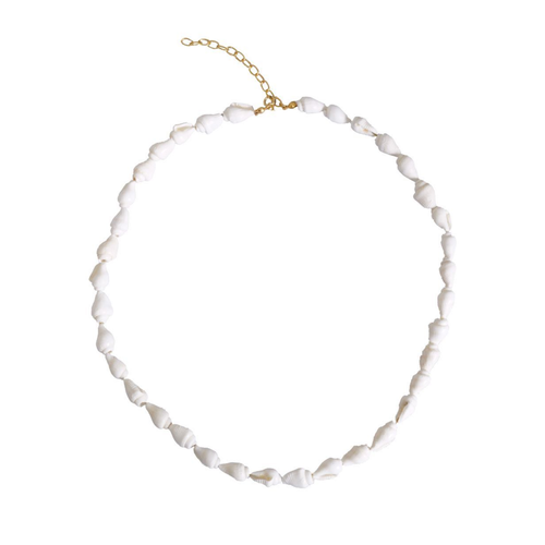 White Nassa Shell Necklace