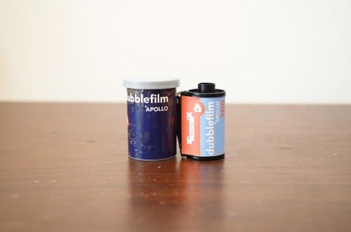 【 35mm カラーネガ 】dubble film( ダブルフィルム)APOLLO 36枚撮り