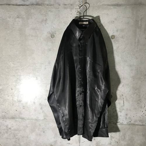 [used] rare material mode shirt