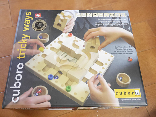 【送料無料 4歳からのおもちゃ】 キュボロ トリッキーウェイ じっくり考える力を育てます!