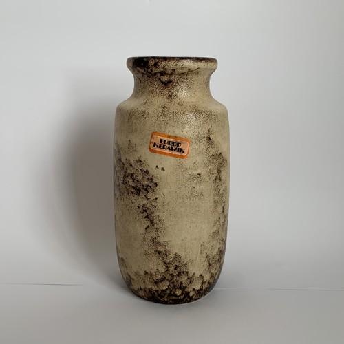 Scheurich / Vintage Fat Lava Vase _04(ヴィンテージ フラワーベース)