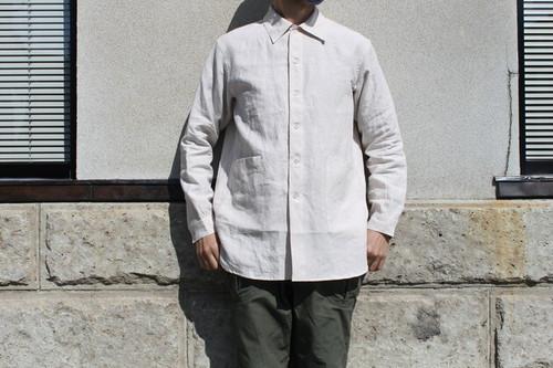 A VONTADE / Gardener Shirts L/S -Linen-