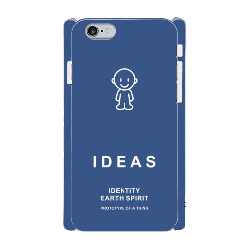 IDEAS/iPhone6/6sケース 800-ネイビー