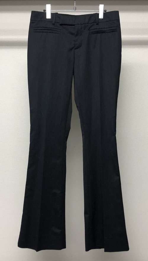AW2004 GUCCI BY TOM FORD FLARE TROUSERS