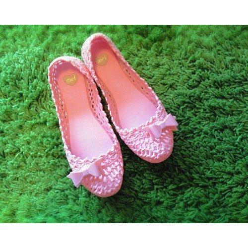 pink shoes by mel. from Brazil