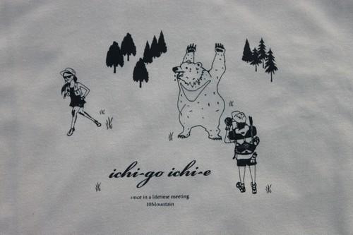 ichi-go ichi-e ロングスリーブシャツ ベージュ