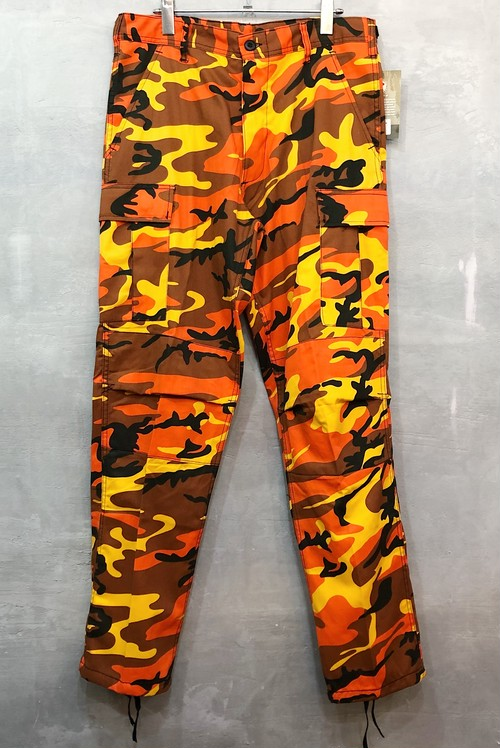 ROTHCO RED ORANGE PANTS #1538