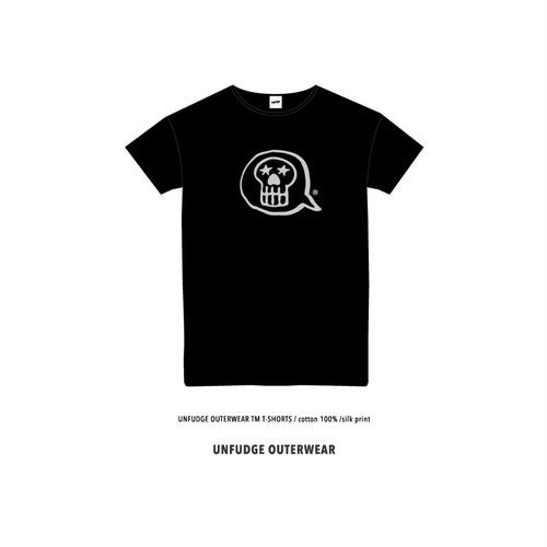 <予約>UNFUDGE OUTERWEAR T-SHORTS / BLACK