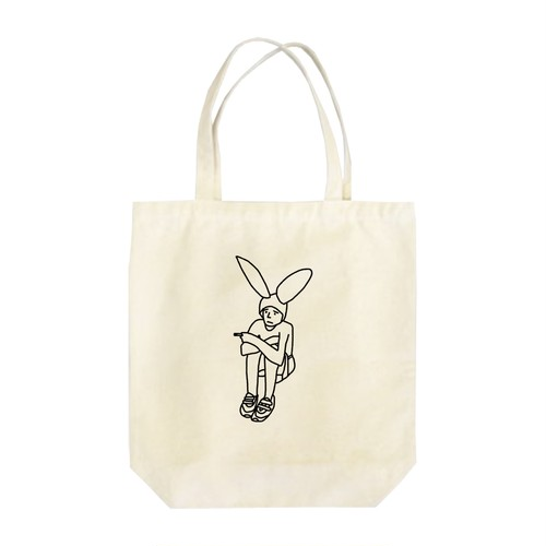 Bunny boy #5 トートバッグ