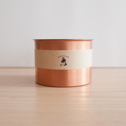 銅製フラワーポット