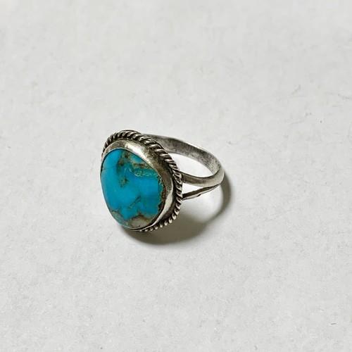 Vintage Nabajo Turquoise Ring ④