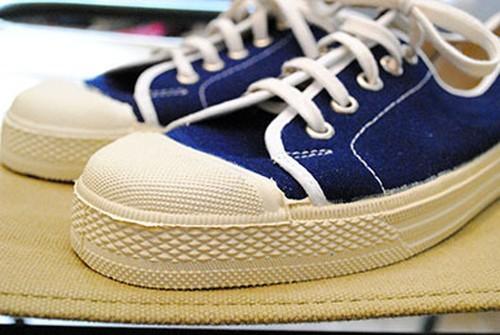 Italian marine jogging shoes