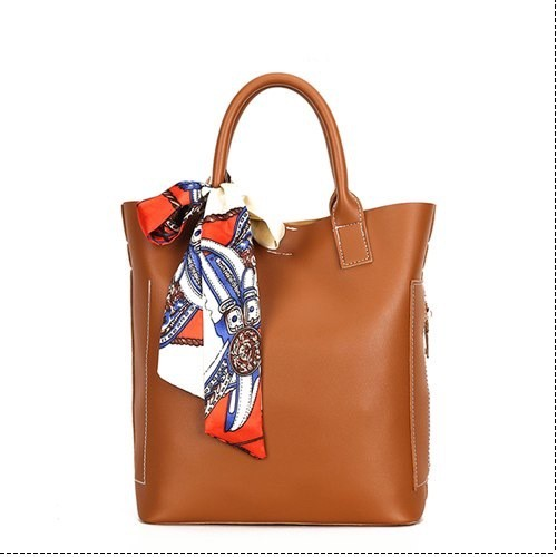Bag Handbag Composite Bag PU Leather Shoulder Bag Casual Large Tote Bag (HF99-4478912)
