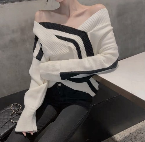monotone knit 2color