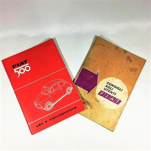 FIAT 500 uso manutenzione set【1セットのみ】 【税込価格】