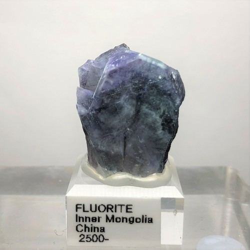 中国内モンゴル フローライト ブルー・グリーン・パープル ゾーニング 003