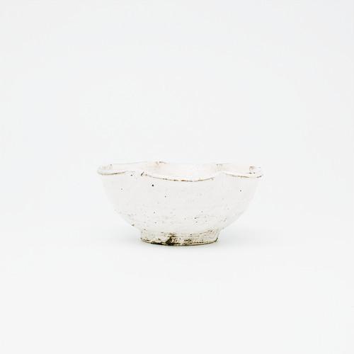 白樺ホワイト輪花小鉢