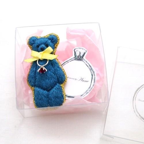 anniversary bear(cobaltblue)