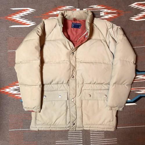 80's ビンテージ ダウンジャケット マウンテンパーカー TRUMPETER ダウンパンパンのあったかジャケット