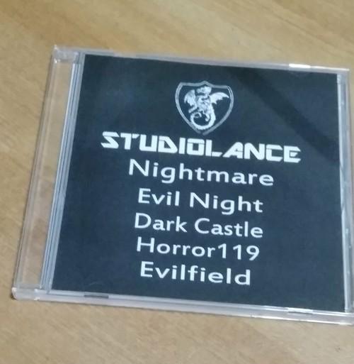 【スタジオランス BGM素材 Nightmare】CD-ROM版