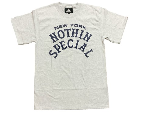 NOTHIN'SPECIAL PLAYER TEE ASH