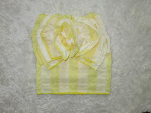 【販売】フラワー帯(子供用)7 黄色