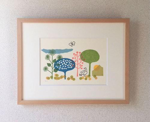 original print / les arbres(1)