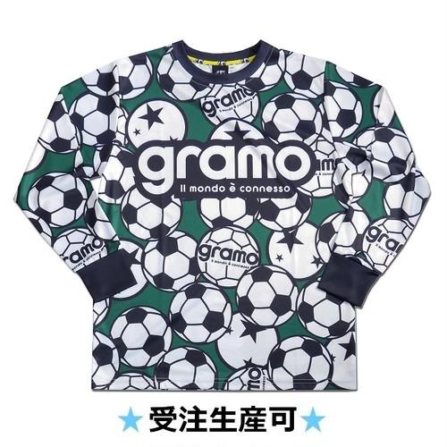 ロングプラクティスシャツ「BALLS-longtype」(グリーン/LP-006)☆受注生産可☆