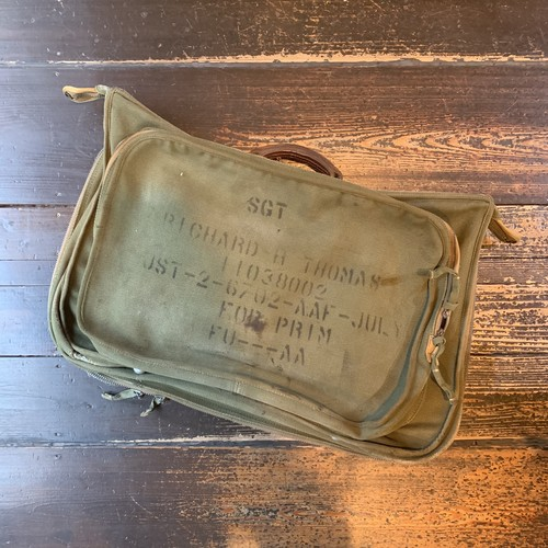 40s US.ARMY AIR FORCE アメリカ陸軍航空隊 B-4 garments bag ガーメンツバッグ ヴィンテージ