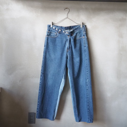 Made By Sunny Side Up / Wrap Denim Pants 1 サニーサイドアップ