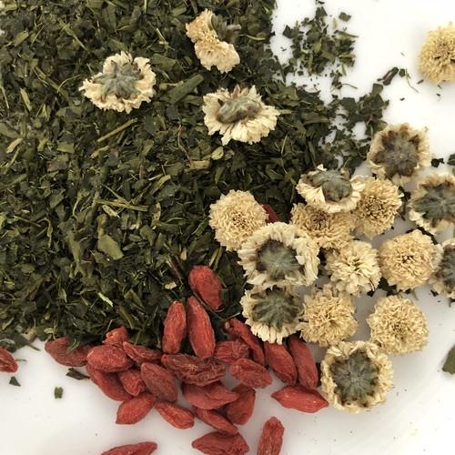 【限定・お試しサイズ】薬膳茶 SPRING TEA 【緑茶ベース】 9g(3gx3袋)