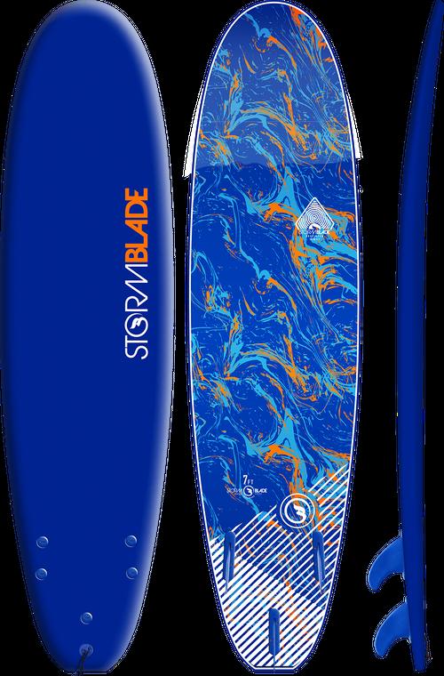Storm Blade 7ft Surfboard / Navy