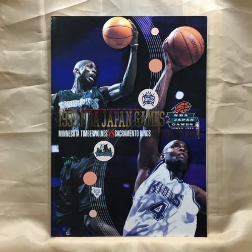 1999 NBA JAPANGAMES 公式戦パンフ [*]