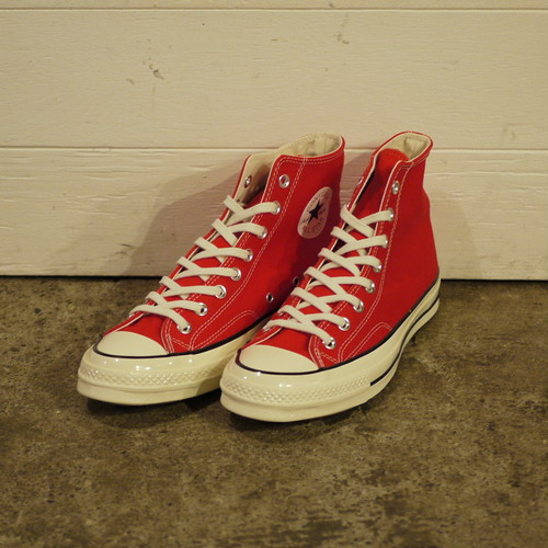 "CONVERSE Chuck Taylor 1970S (CT 70 HI) Size9 ""Red,Dead Stock"""