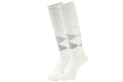 WHIMSY (ウィムジー) / TUBE ARGAYLE SOCKS -WHITE-