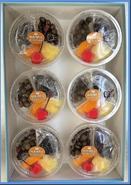 特製みつ豆6個入り|豆大福や上生菓子のお取り寄せ・桐木神楽堂