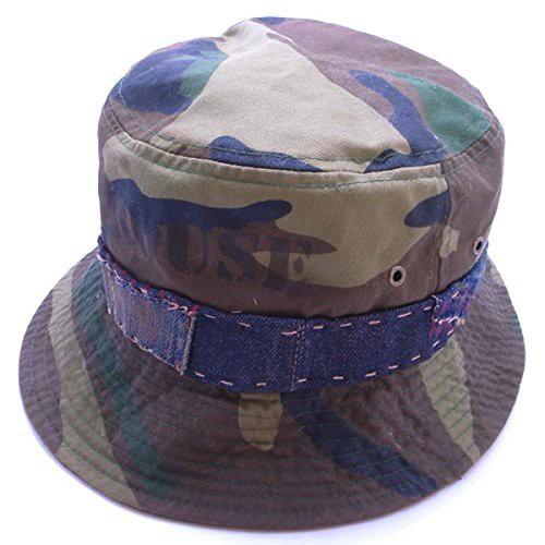 Handmade Custom Wodland Camo Bucket Hat ハンドメイド カスタム バケット ハット 02