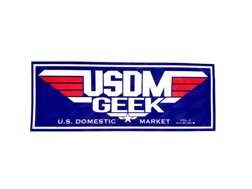 USDM GEEK Vol.3 2019 Sticker