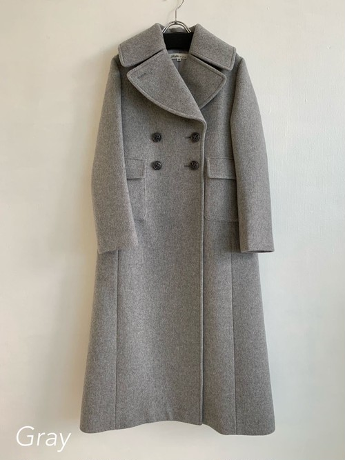 Bilitis dix-sept ans    Wool Long Coat